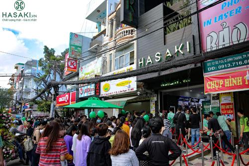 Chi nhánh 5 của Hasaki Beauty & Spa tọa lại vị trí đắc địa của quận Bình Thạnh.