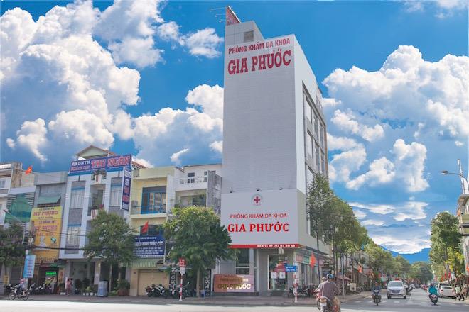 Phòng khám đa khoa Gia Phước tại thành phố Cần Thơ.