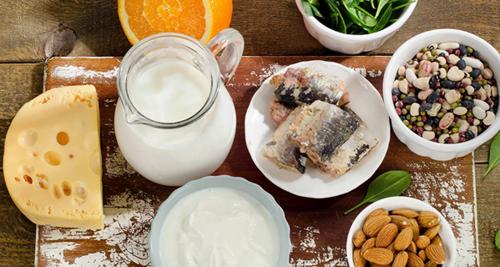 Ăn cân đối các thực phẩm giàu canxi