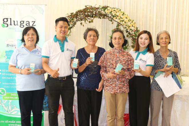 Thực phẩm bảo vệ sức khỏe Glugaz sản xuất trên dây chuyền công nghệ hiện đại, hỗ trợ giảm đường huyết, nguy cơ biến chứng tim mạch ở bệnh nhân tiểu đường.