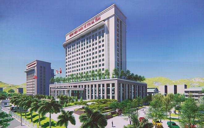 Phối cảnh Bệnh viện quốc tế TTH Hà Tĩnh.
