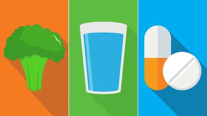 Uống nhiều nước rất quan trọng để ngừa sỏi thận.