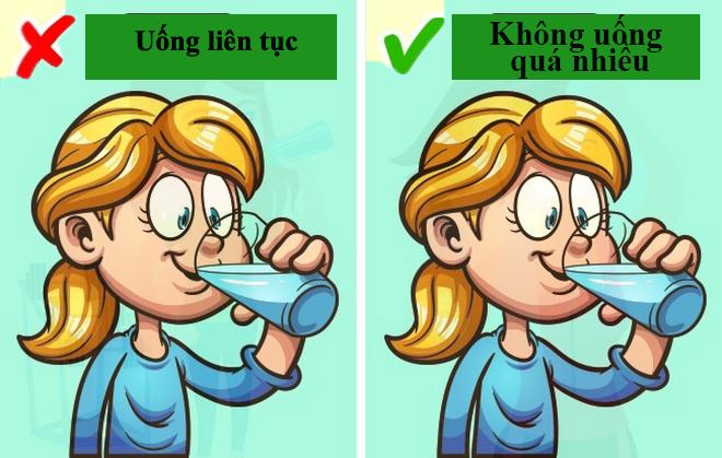 Uống nước như thế nào tốt cho sức khỏe?