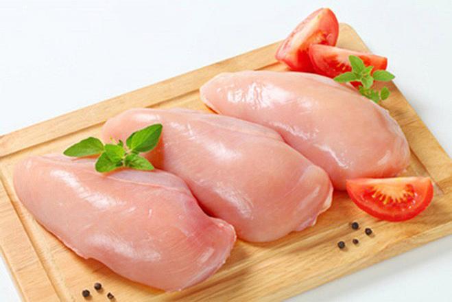 Ăn ức gà rất tốt cho thận.