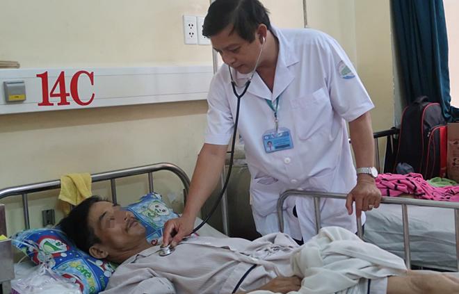 Bệnh nhân điều trị sốt xuất huyết tại Bệnh viện Bệnh Nhiệt đới TP HCM.