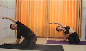 Bài khởi động trước khi tập yoga