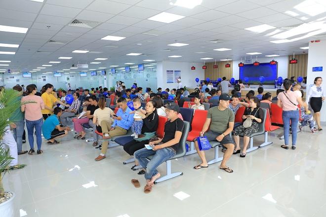 Với diện tích 5.000m2, gần 90 phòng khám và phòng tiêm, VNVC Đà Nẵng có thể phục vụ 4.000 lượt khách mỗi ngày.
