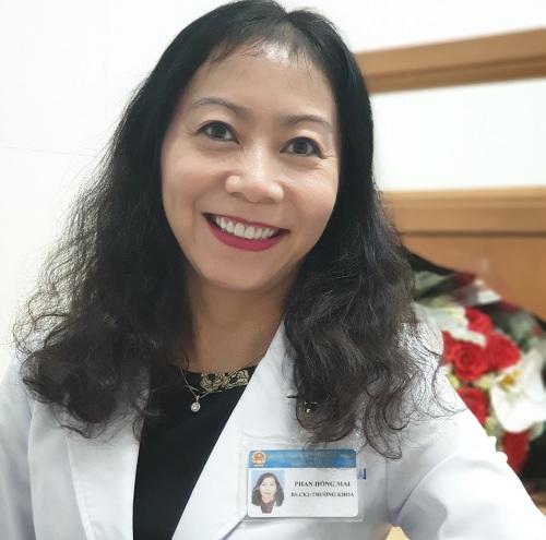 Bác sĩ chuyên khoa 2 Phan Hồng Mai, Trưởng khoa Khúc xạ, Bệnh viện Mắt TP HCM.