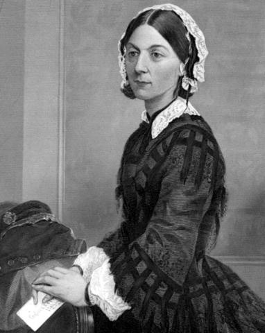 Chân dung Florence Nightingale. ảnh: Wikipedia.