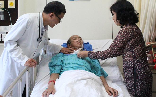 Bệnh nhân hồi phục tốt sau 3 tháng điều trị. Ảnh: Minh Tâm.
