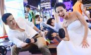 Cặp đôi nhờ tập gym nên duyên vợ chồng