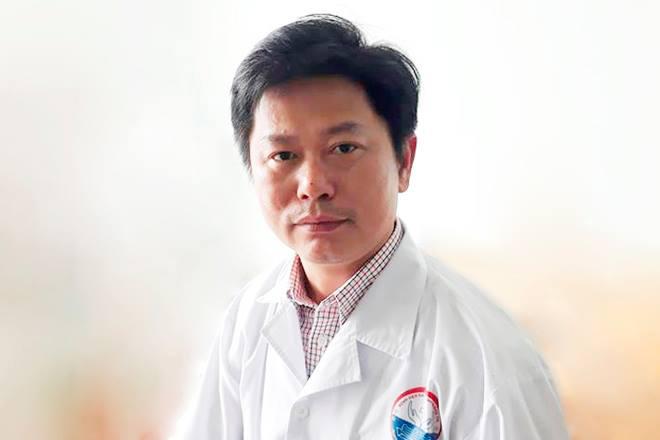 Bác sĩ Lê Văn Lâm. Ảnh: Hoàng Táo