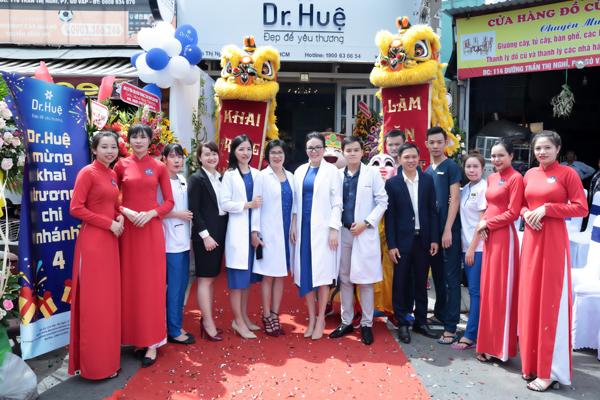 Dr. Huệ khai trương chi nhánh mới tại Gò Vấp, TP HCM