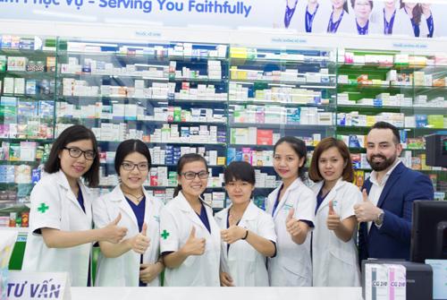 Sau 8 năm hoạt động tại thị trường Việt Nam, hiện Pharmacity có hơn 200 cửa hàng trên toàn quốc cùng hơn 1.000 nhân viên