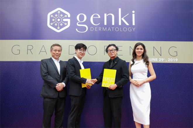 Phòng khám hội tụ đội ngũ y bác sĩ là các tiến sĩ, thạc sĩ trình độ chuyên môn cao, tu nghiệp tại Nhật Bản với thâm niên hơn 15 năm trong lĩnh vực da liễu, đáp ứng những yêu cầu về kỹ thuật và thẩm mỹ.Genki cũng sở hữu những công nghệ thẩm mỹ tiên tiến thế giới, được FDA và CE chứng nhận như trẻ hóa không phẫu thuật Thermage FLX, công nghệ Revlite SI xóa nám, tàn nhang, đồi mồi, đốm nâu, thâm mụn trứng cá, sẹo mụn, làm trắng sáng vùng da không đều màu; laser CO2 Fractional trị sẹo; trẻ hóa Mesotherapy.