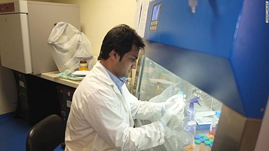 Sáng chế da mặt nhân tạo ghép cho nạn nhân bị tạt axit