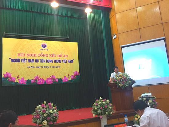 Hội nghị tổng kết thực hiện đề án Người Việt Nam ưu tiên dùng thuốc Việt Nam