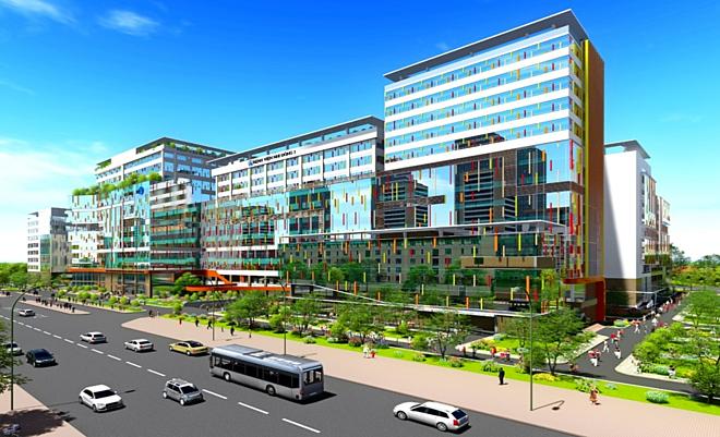 3 khối nhà mới của Bệnh viện Nhi Đồng 1 sẽ hình thành vào cuối năm 2021