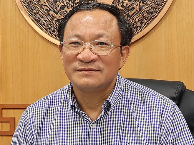 Ông Nguyễn Doãn Tú, Tổng cục Dân số - Kế hoạch hoá gia đình (Bộ Y tế). Ảnh: Thuỳ Liên.