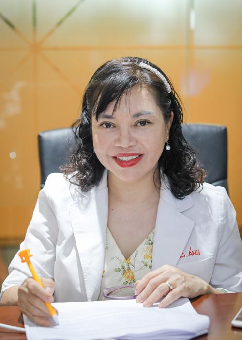Tiến sĩ, bác sĩ Trần Ngọc Ánh. Ảnh: Thành Nguyễn