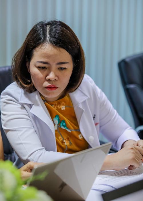 Bác sĩ Đào Hoàng Thiên Kim. Ảnh: Thành Nguyễn