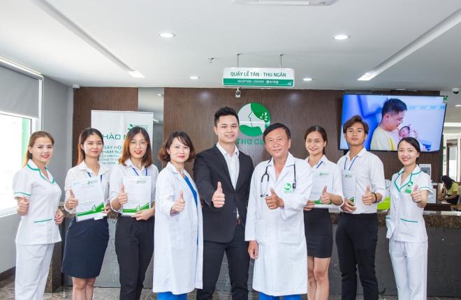 Bệnh viện Đa khoa quốc tếThu Cúc với cơ sở vật chất hiện đại, bác sĩ trình độ chuyên môn cao là gợi ý đểdoanh nghiệp lựa chọn đểkhám sức khỏe cho người lao động.