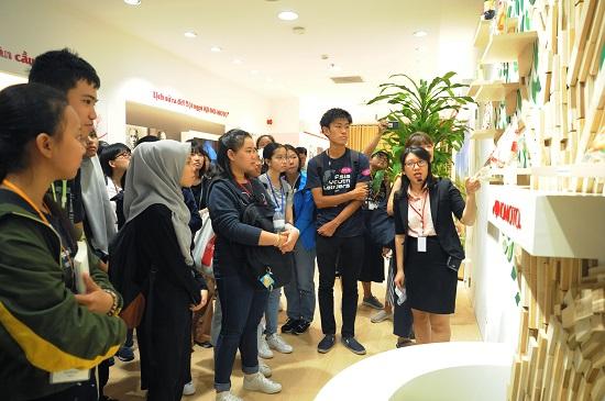 Kết thúc chương trình, 115 học sinh Trung học phổ thông đã được tham quan bảo tàng Infoseum nằm trong khuôn viên Ajinomoto Cooking Studio. Qua đó, các học sinh hiểu thêm quy trình sản xuất sản phẩm của Ajinomoto, nguồn nguyên liệu nông sản phong phú của Việt Nam và cách sử dụng gia vị đặc trưng trong món ăn của người Việt.