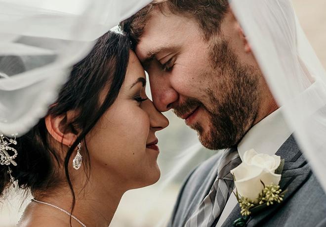 Ảnh cưới của Christina và chồng. Ảnh: Foxnews