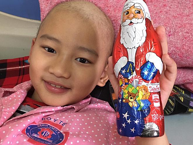 Nam Phát hiện đang được điều trị tại Bệnh viện K. Ảnh: Hà Trần.