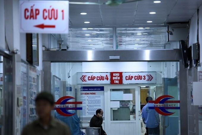 Khoa Cấp cứu, Bệnh viện Bạch Mai. Ảnh: Giang Huy.