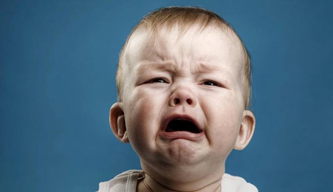 Khi trẻ khóc, chúng ta thường không thấy nước mắt. Ảnh: Live Science