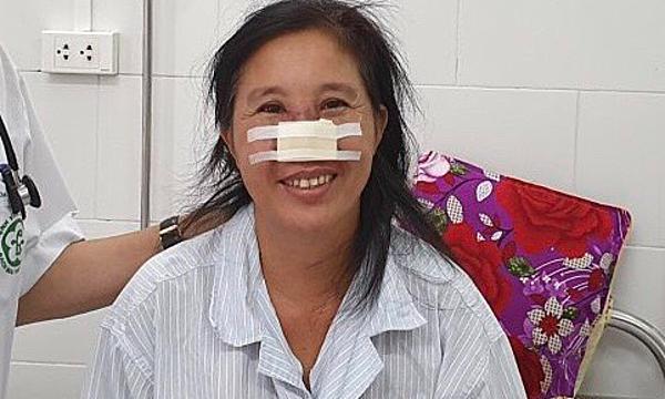 Bệnh nhân ổn định và được xuất viện ngày 19/9. Ảnh: Mai Thanh.