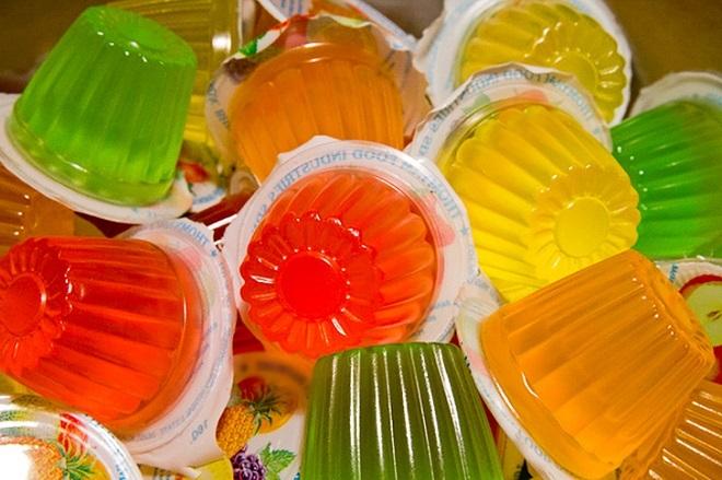 Thạch gelatin bị cấm ở Châu Âu, Australia do chứa chất gây hại cho sức khỏe trẻ nhỏ. Ảnh: Brightside