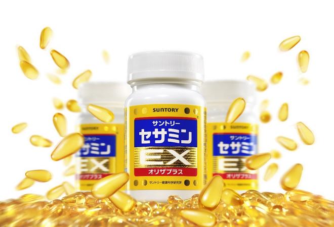 Sesamin Ex là sản phẩm của tập đoàn Suntory (Nhật Bản).