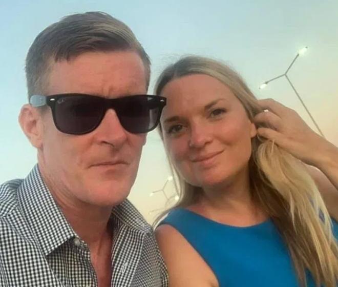 Paul và bạn gái tại kỳ nghỉ ở Malta. Ảnh: Sun