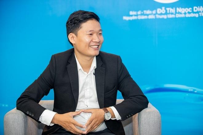 Ông Lê Đức Phú cho biết nước điện giải ion kiềm có nguồn gốc trong bệnh viện Nhật Bản.