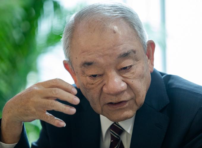 Ông Kajiwara Junichi, Tổng giám đốc Công ty Acecook Việt Nam. Ảnh: Thành Nguyễn.