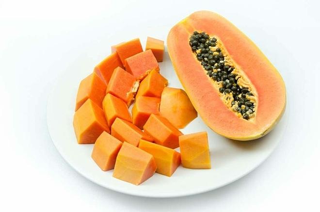 Các bộ phận của cây đu đủ từ quả, lá, rễ, nhựa, hạt đều có công dụng riêng. Ảnh: Mujerde10