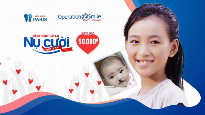 Nha khoa Paris và Operation Simle Việt Nam tổ chức phẫu thuật nụ cười miễn phí - 2