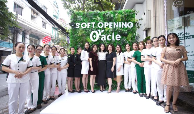 Chi nhánh thứ tư của Viện thẩm mỹ Oracle Vietnam khang trang và rộng rãi.