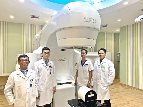 Bệnh viện Vinmec Central Park đã trang bị Máy xạ trị Truebeam của hãng Varian (Mỹ).