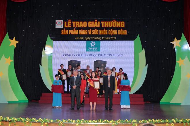 Mentinfo nhận giải thưởng vàng vì sức khỏe cộng đồng - 1