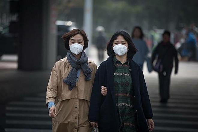 Ô nhiễm không khí làm tăng nguy cơ sảy thai, thai lưu. Ảnh: Line Today