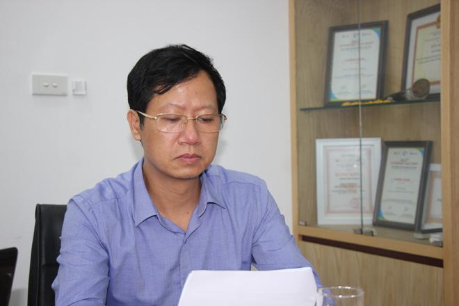 Tiến sĩ, bác sĩ Vũ Văn Thành - Trưởng khoa Bệnh Phổi mạn tính - Bệnh viện Phổi Trung ương,