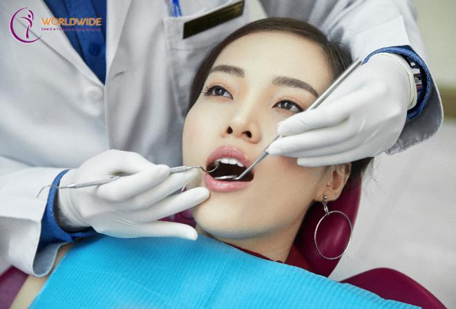 Răng đẹp mà không khỏe thì cũng dễ bị hư hỏng.