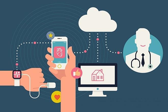 Các ứng dụng nhằm kết nối bệnh nhân với bác sĩ, hoặc cung cấp thông tin y tế về phòng khám, các loại thuốc sử dụng. Ảnh: Atelier.bnpparibas