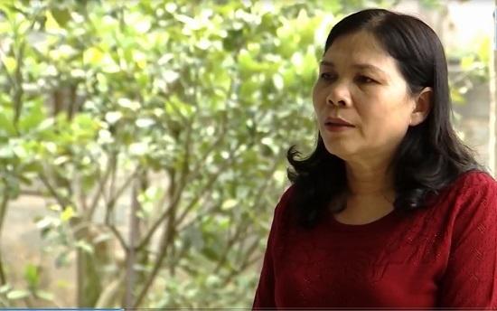Chị Nguyễn Thị Duệ duy trì chế độ ăn uống lành mạnh trong quá trình chữa bệnh ung thư tử cung di căn.