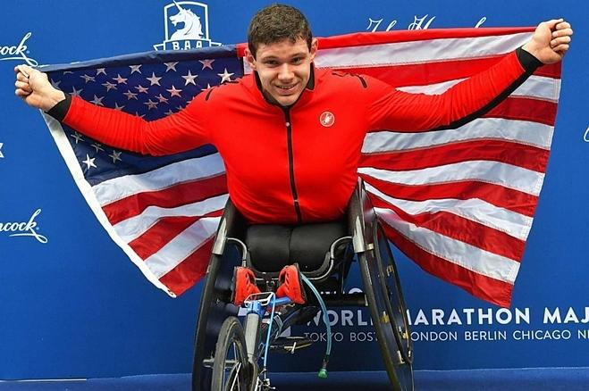 Daniel Romanchuk chiến thắng giảiNew York City Marathon. Ảnh: Reuters