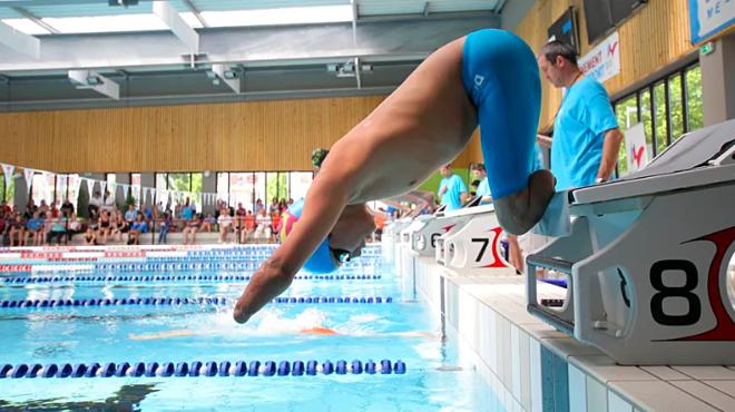 Théo Curin tại Thế vận hội Paralympic 2016. Ảnh: France Bleu