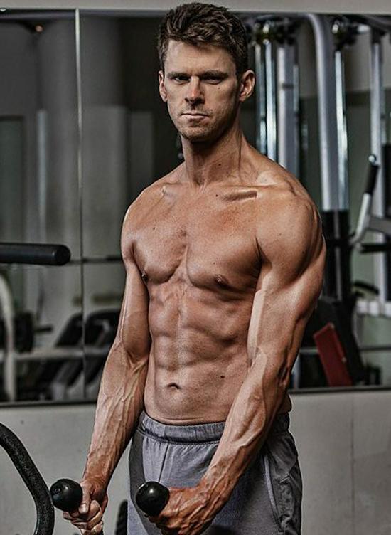 Matt Ellengold sau khi giảm cân và cai nghiện thành công. Ảnh:Ultimate Performance.